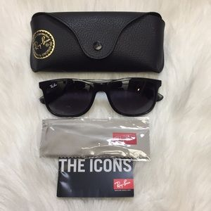 13b2bfd12 Ray-Ban Accessories | Rayban Andy Black Rb4202 6018g | Poshmark